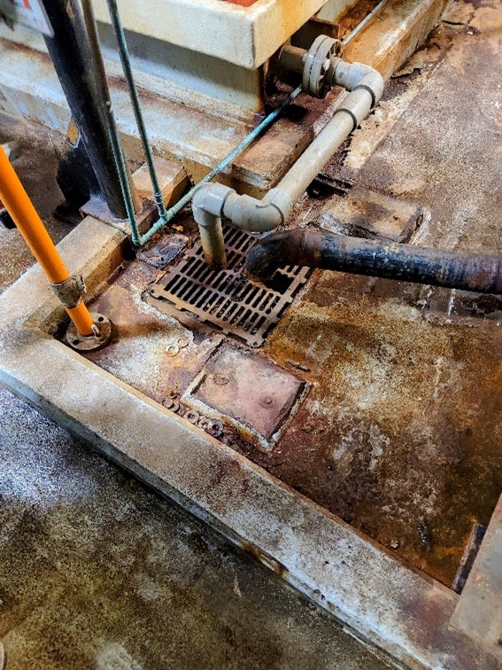 concrete floor repair