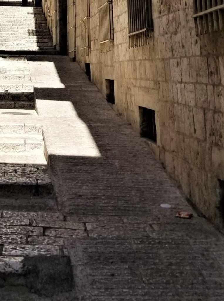 walkway in Jerusalem